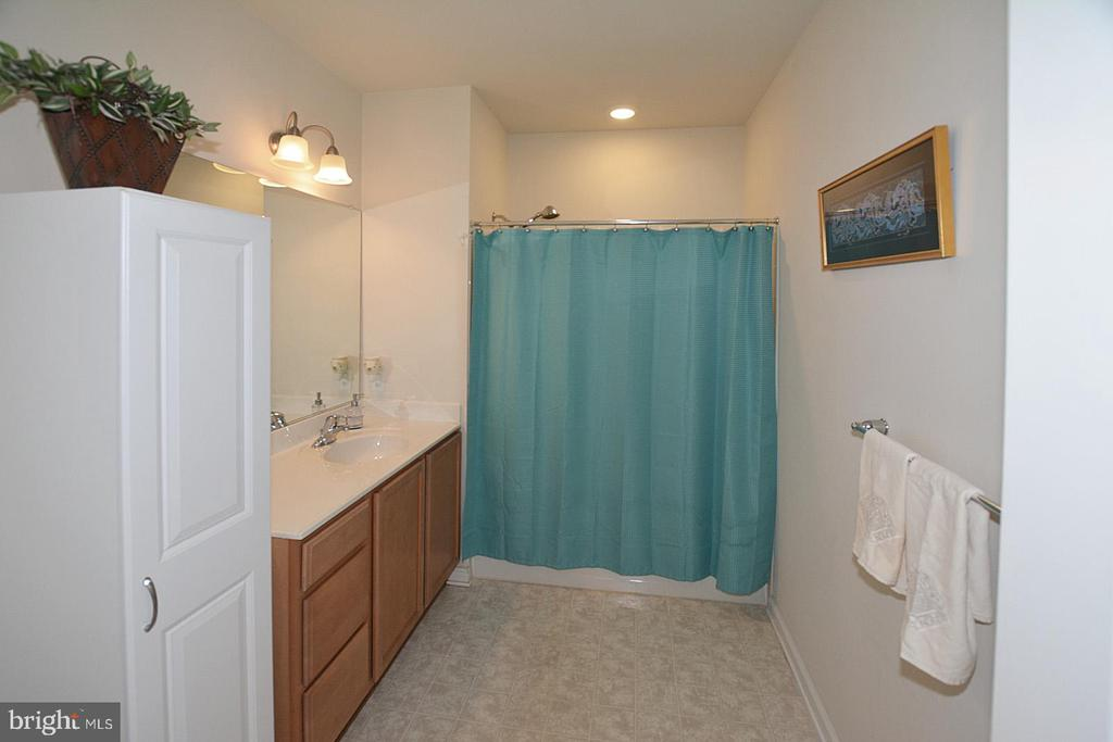 Guest  Bath with Tub/Shower Combo - 20590 HOPE SPRING TER #104, ASHBURN