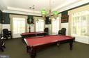 Game Room in Clubhouse - 20590 HOPE SPRING TER #104, ASHBURN