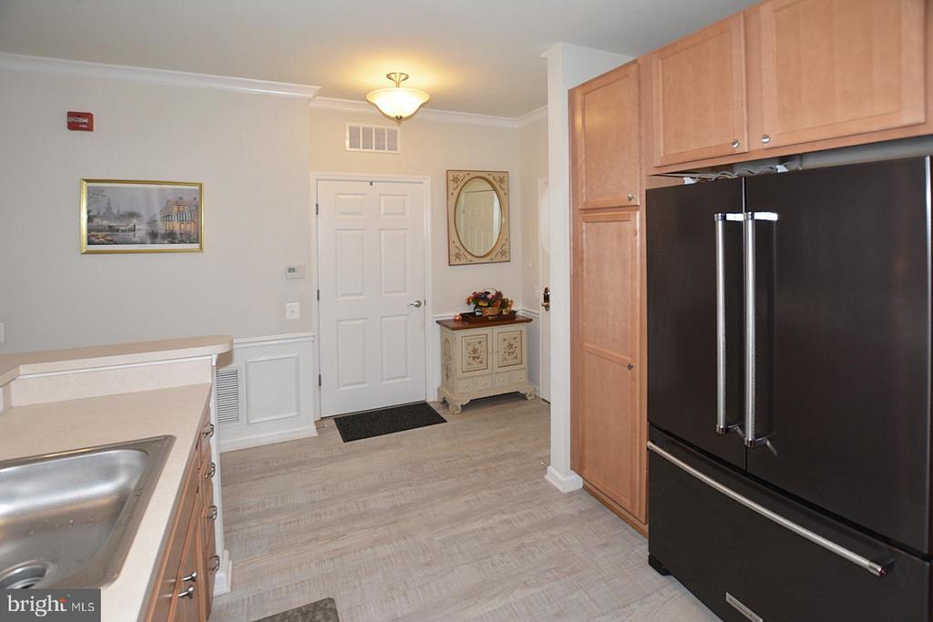 View of Foyer & Laundry Room - 20590 HOPE SPRING TER #104, ASHBURN