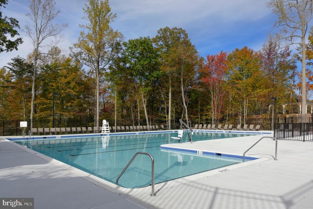 Colonial Forge Outdoor Pool - 7 FLINT CT, STAFFORD