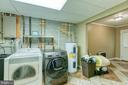 Large laundry room with water treatment system - 6 FOX ST, STAFFORD