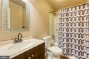Lower level bath nicely updated - 6 FOX ST, STAFFORD