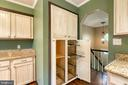 Built in pantry with pull out shelving - 6 FOX ST, STAFFORD