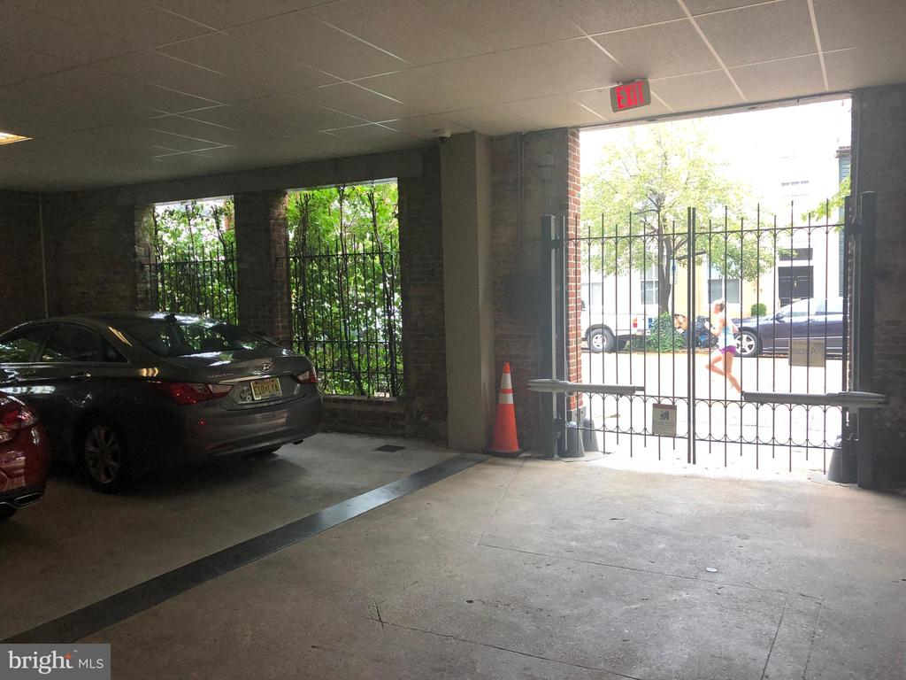 Garage Space is the first one in...... - 200 S FAIRFAX ST #16, ALEXANDRIA