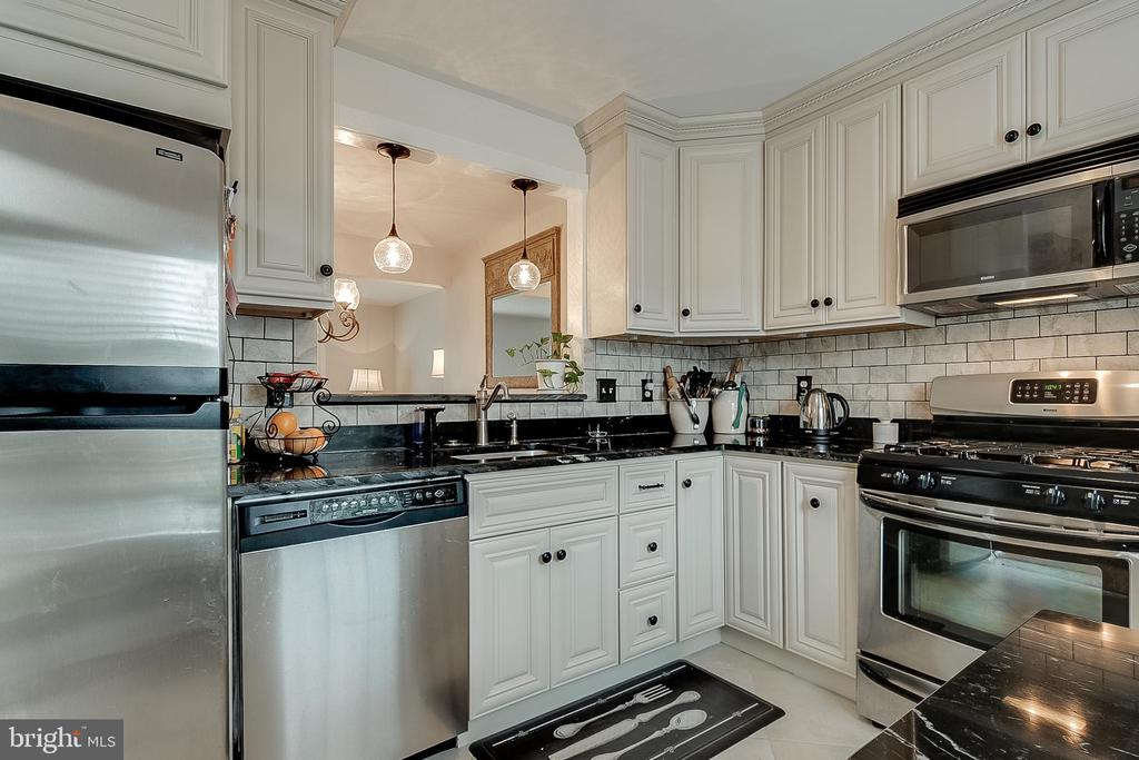 Enjoy cooking in your new kitchen - 9586 WHITE PILLAR TER, GAITHERSBURG