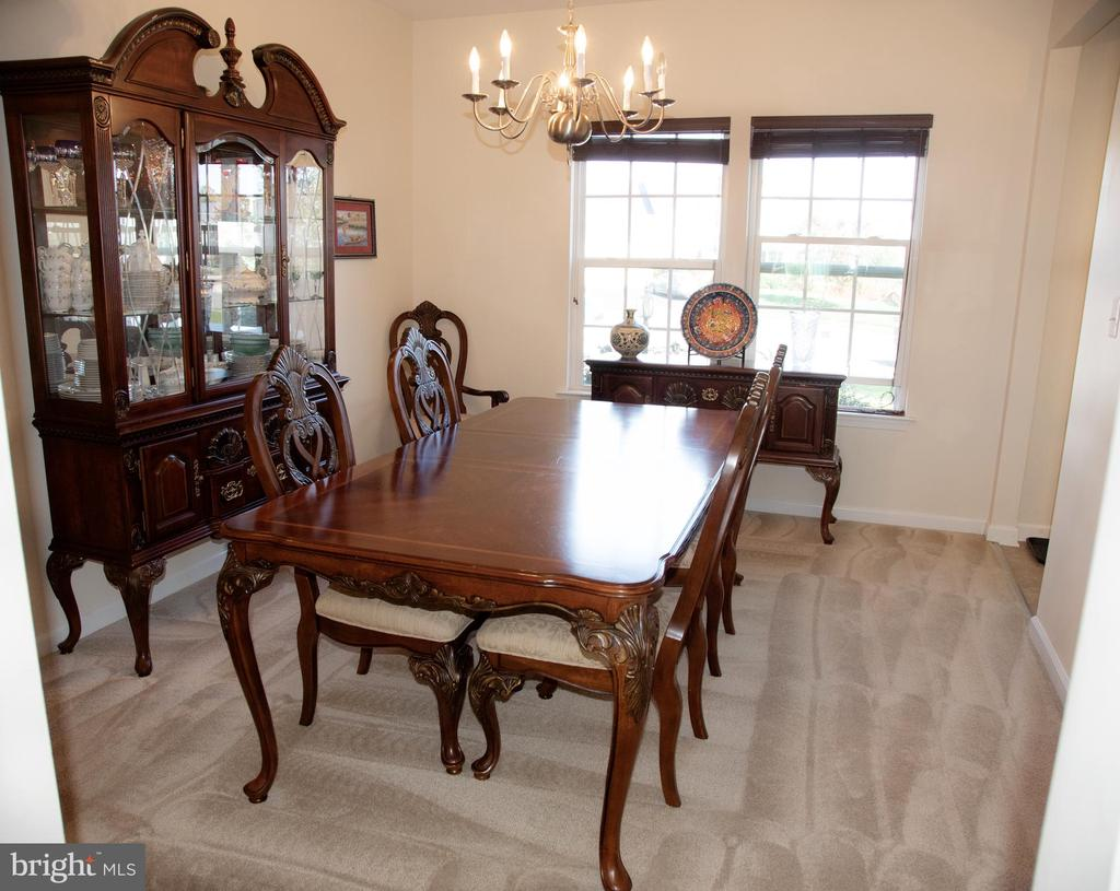 Formal Dining Room - 3 BRACEY MILL CT, FREDERICKSBURG