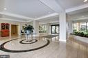 Marina Towers lobby - 501 SLATERS LN #123, ALEXANDRIA