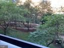 View from Balcony overlooking courtyard - 1276 N WAYNE ST #308, ARLINGTON