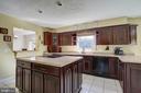 Open Kitchen w/ Tile Flooring - 8 LITTLE ROCKY RUN LN, STAFFORD