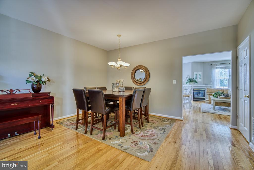 Spacious Dining Area - 14794 TRUITT FARM DR, CENTREVILLE