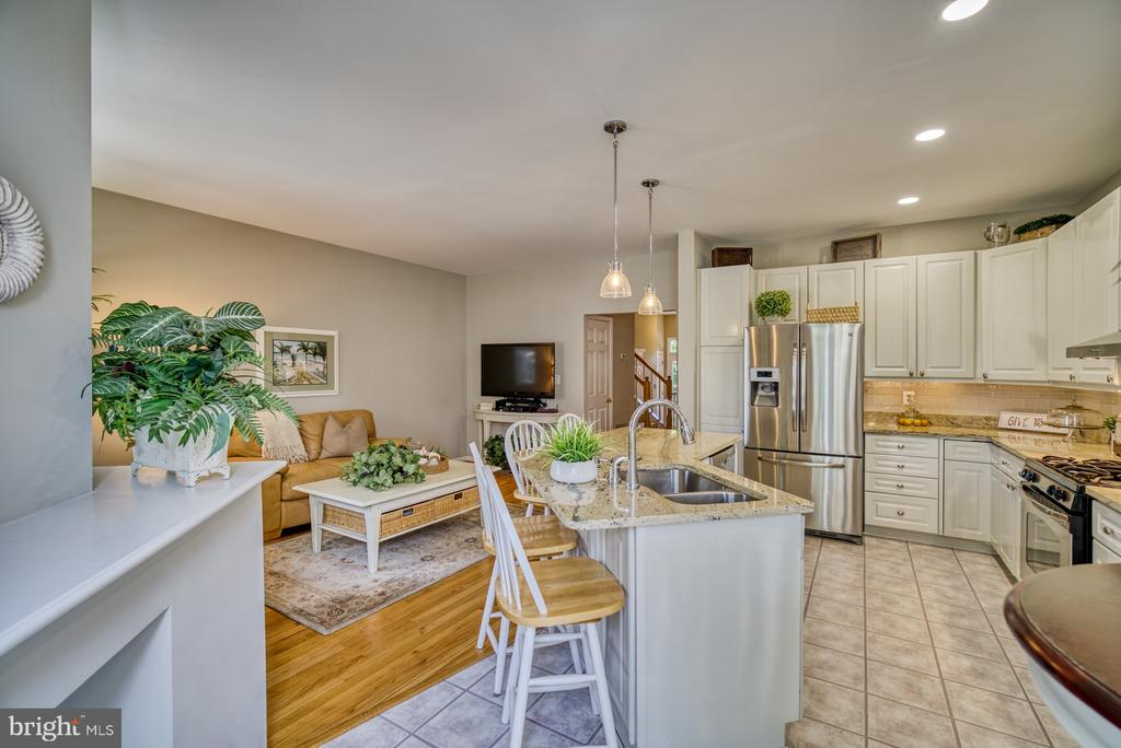 Remodeled Kitchen - SS Appliances - 14794 TRUITT FARM DR, CENTREVILLE