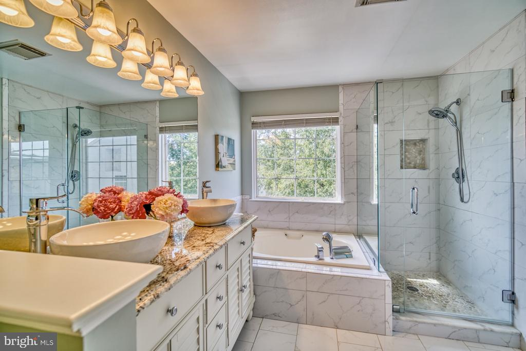 Primary En-Suite Bath Completely Remodeled - 14794 TRUITT FARM DR, CENTREVILLE