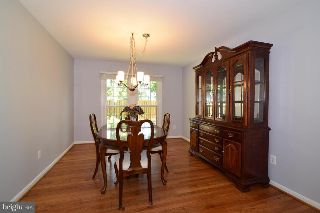 Dining Room with window to the backyard - 915 SPRING KNOLL DR, HERNDON