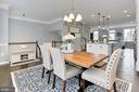 Dining room - 42643 LANCASTER RIDGE TER, CHANTILLY