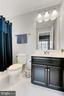 Full Bath in Basement - 42643 LANCASTER RIDGE TER, CHANTILLY