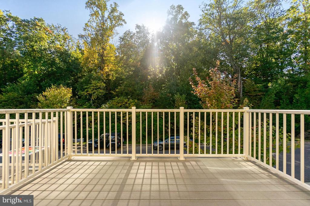Deck Off Kitchen For Entertaining - 4612 POTOMAC HIGHLANDS CIR, TRIANGLE