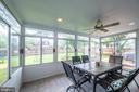 Stunning sun room - 9219 GREENGATE CT, MANASSAS