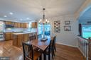 Breakfast room perfect for your morning coffee - 9219 GREENGATE CT, MANASSAS