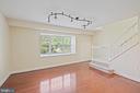 Large Living Room - 3800 PORTER ST NW #302, WASHINGTON