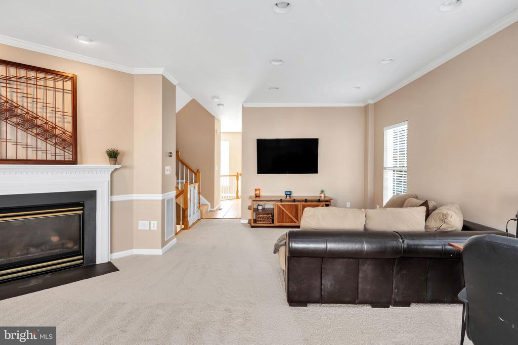 Cozy up by the fire as the temperatures drop - 4125 FAIRFAX CENTER CREEK DR, FAIRFAX