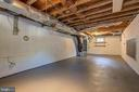 Lower level would be great space for a gym - 19125 WINDSOR RD, TRIANGLE