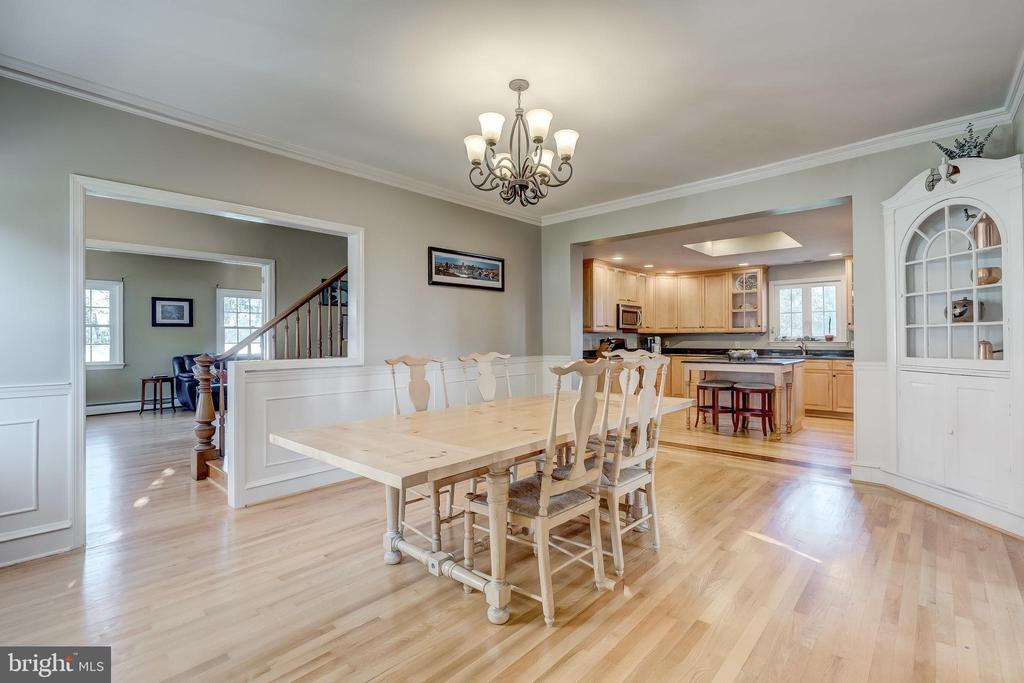 Dining Room - 17706 OLD FREDERICK ROAD, MOUNT AIRY