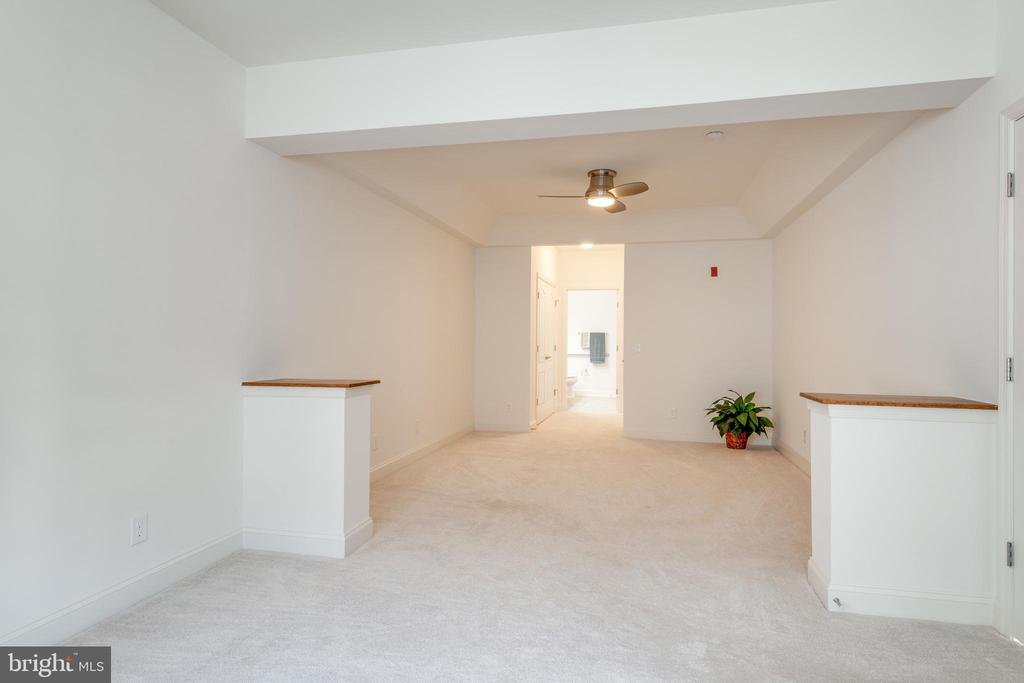 Looking from sitting room toward MBR & MBA - 9202 CHARLESTON DR #301, MANASSAS