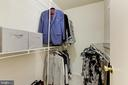Walk-in closet in owner's suite - 6291 CENTRE STONE RING, COLUMBIA