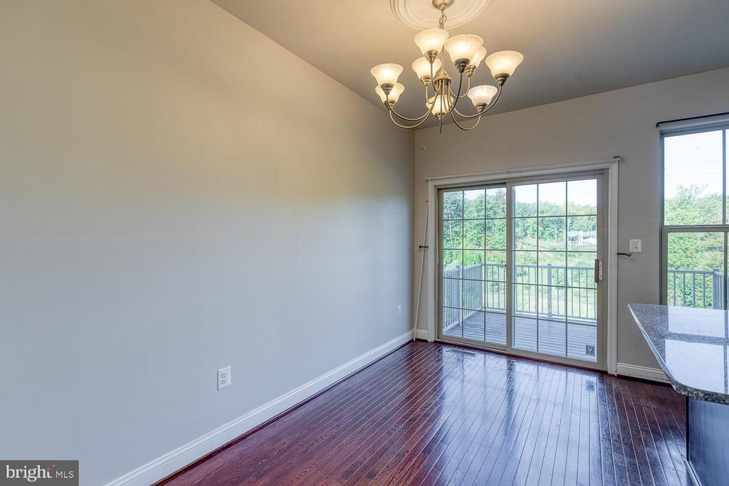 Separate dining area off kitchen - 4530 POTOMAC HIGHLANDS CIR, TRIANGLE