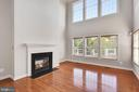 Two Story Family Room w/ Gas Fireplace - 19998 PALMER CLASSIC PKWY, ASHBURN