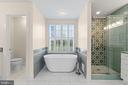 Stunning Brand New Primary Bath - 18109 OAK RIDGE DR, PURCELLVILLE