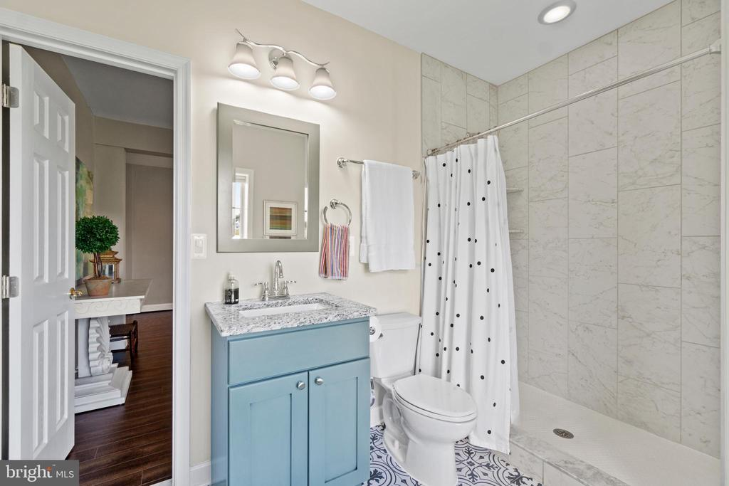 Lower Level Bathroom - 18109 OAK RIDGE DR, PURCELLVILLE
