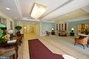 Main building entry lobby - 19350 MAGNOLIA GROVE SQ #211, LEESBURG