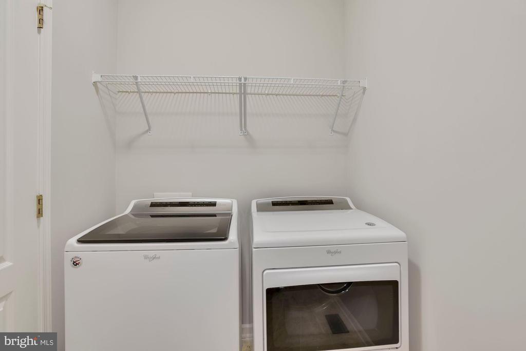 Main Level Laundry Room - 43218 BALTUSROL TER, ASHBURN