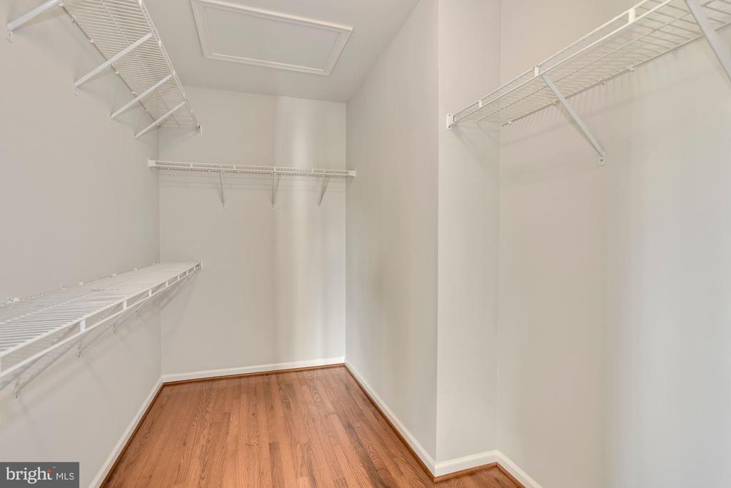 Huge Master Closet - 43218 BALTUSROL TER, ASHBURN