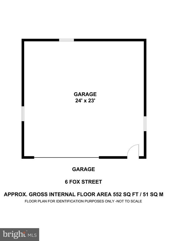 Detached Garage Workshop - 6 FOX ST, STAFFORD