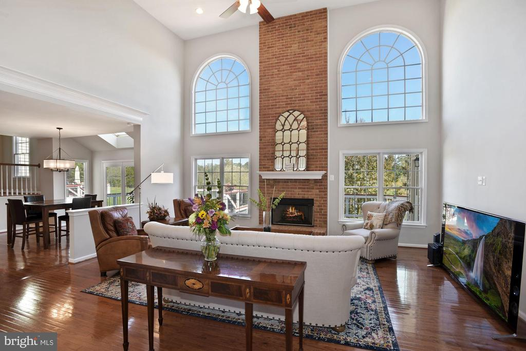 Two Story Family Room w/ Great Views - 19658 OLYMPIC CLUB CT, ASHBURN