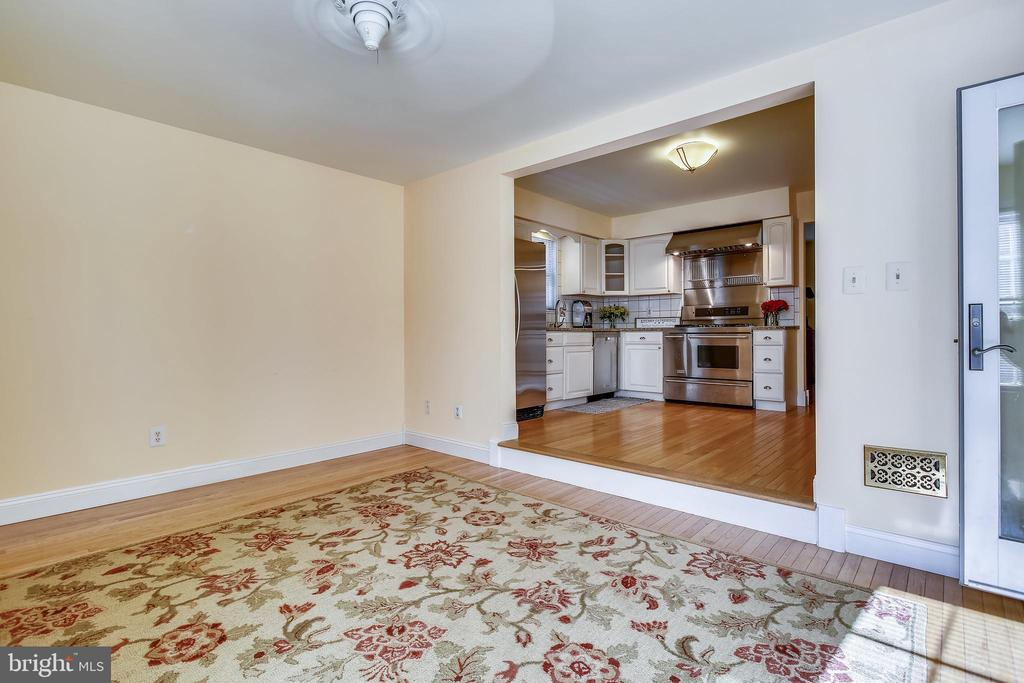 Family Room/Kitchen - 1636 STOWE RD, RESTON