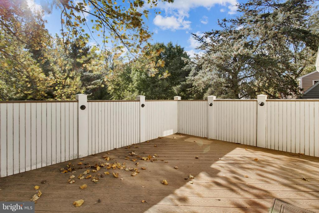 Private Sundeck Upstairs - 1636 STOWE RD, RESTON