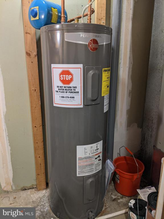New hot water heater! - 77 SOUTHALL CT, STERLING