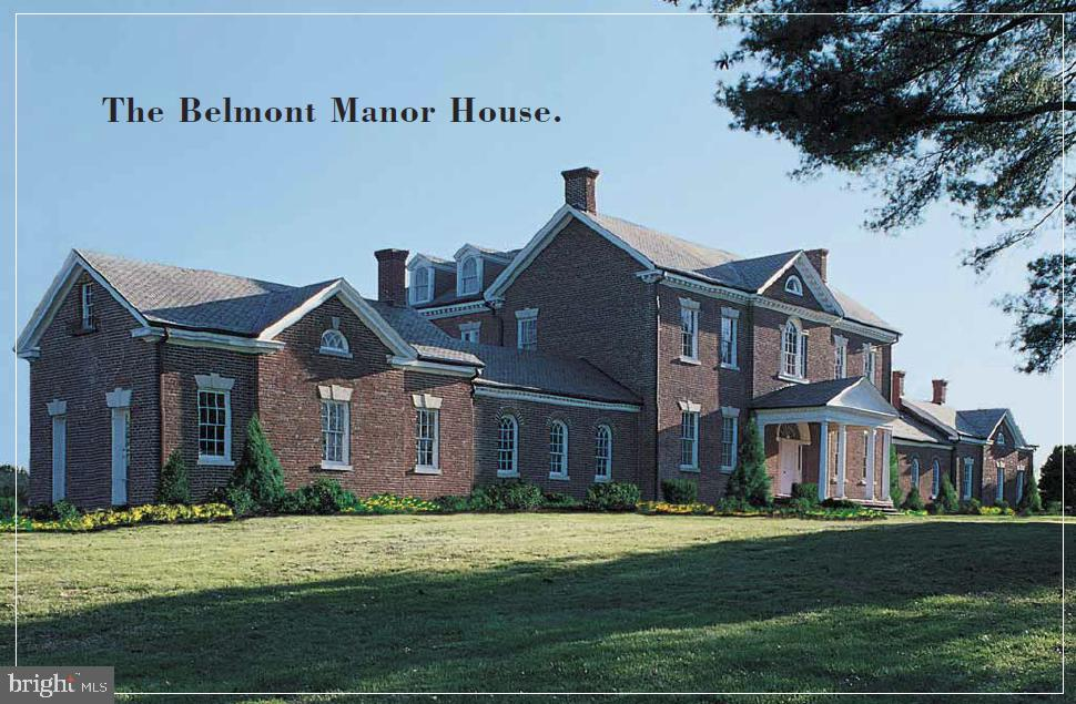 The Historic Belmont Manor House - 19998 PALMER CLASSIC PKWY, ASHBURN