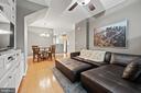 Family Room View - Ceiling Fan - 42453 ROCKROSE SQ, BRAMBLETON