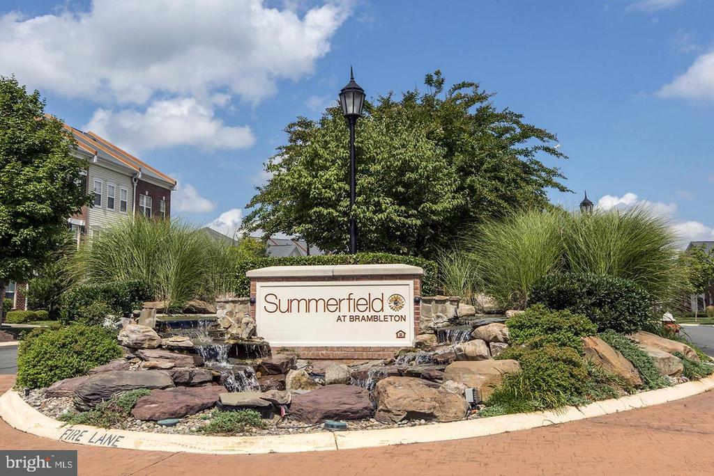 Summerfield Main Entrance - 42453 ROCKROSE SQ, BRAMBLETON