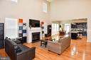 Two Story Family Room - 2522 SWEET CLOVER CT, DUMFRIES