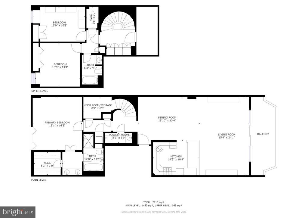 Floor Plan - 1401 N OAK ST #608, ARLINGTON