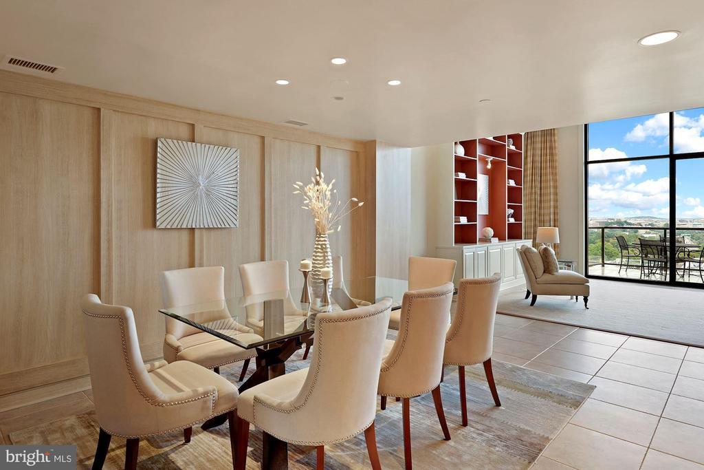 Dining Room - 1401 N OAK ST #608, ARLINGTON
