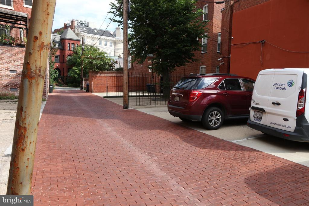 Rear Alley to 22nd Street - 2211 MASSACHUSETTS AVE NW, WASHINGTON