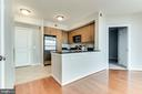 The whole unit has been painted - 1021 N GARFIELD ST #714, ARLINGTON