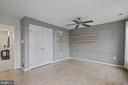 Lower level family room - 1174 N VERNON ST, ARLINGTON