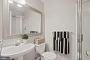 Full bath on upper level - 1174 N VERNON ST, ARLINGTON